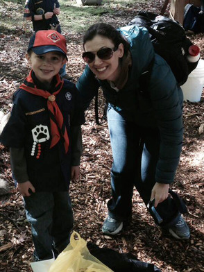 Moms are part of the Camporee at Camp Winnebago