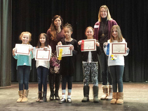 SJFC Spelling Bee Winners
