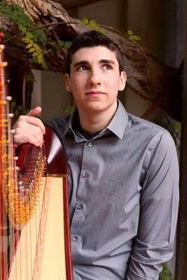 Zachary Hatcher, harp