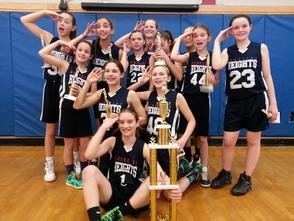 Berkeley Heights 6th Grade Girls Basketball Team Wins Branchburg March Madness Tournament, photo 3