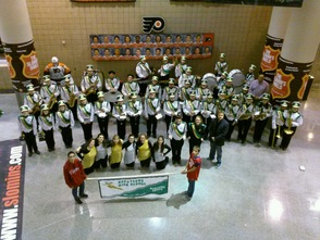 HHS Marching Band Performs in Philadelphia, photo 1
