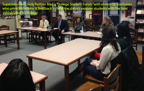 Gov. Livingston Alumni Return For 'College Student Forum', photo 1