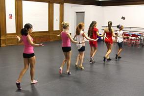 Students at Class Act Performing Arts Studio