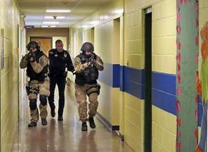 West Orange Mock Shooter Drill