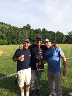 Joe's Friends With Trophy