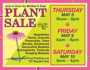 Plant Sale Poster