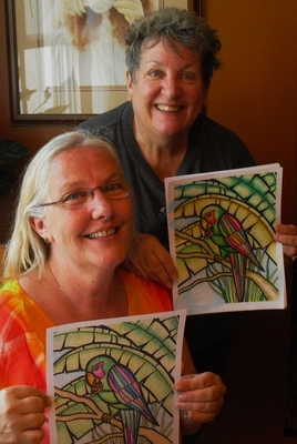Coloring Friends, photo 1