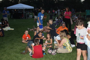 National Night Out Concert Attendees