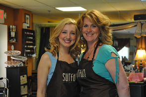 Salon FiG's Christina (left) and Colleen (right).