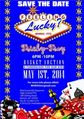 Feeling Lucky? Watchung Hills Regional High School PTO Hosting Auction May 1, photo 1