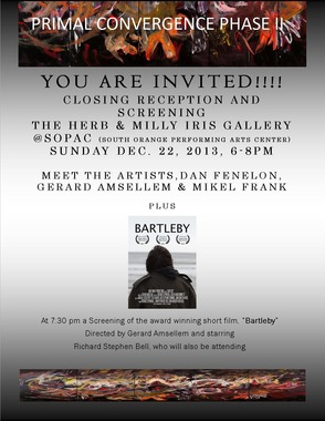 Invitation to See LHS Teacher, Gerard Amsellem's, Film and Closing Show