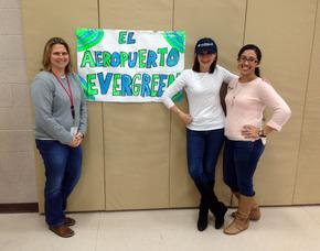 Teachers involved in Spanish airport