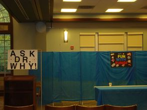 The Set for Ask Dr. Why