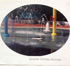 Shower Tunnel Spray Feature