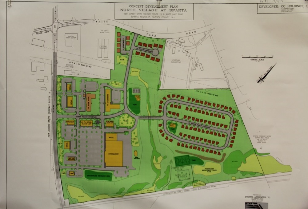 New Development Approved in Sparta: Includes Shoprite and Commercial ...