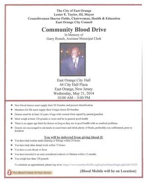 Community Blood Drive, photo 1