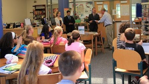 Congressman Frelinghuysen Visits Sparta Middle School Student Council, photo 5