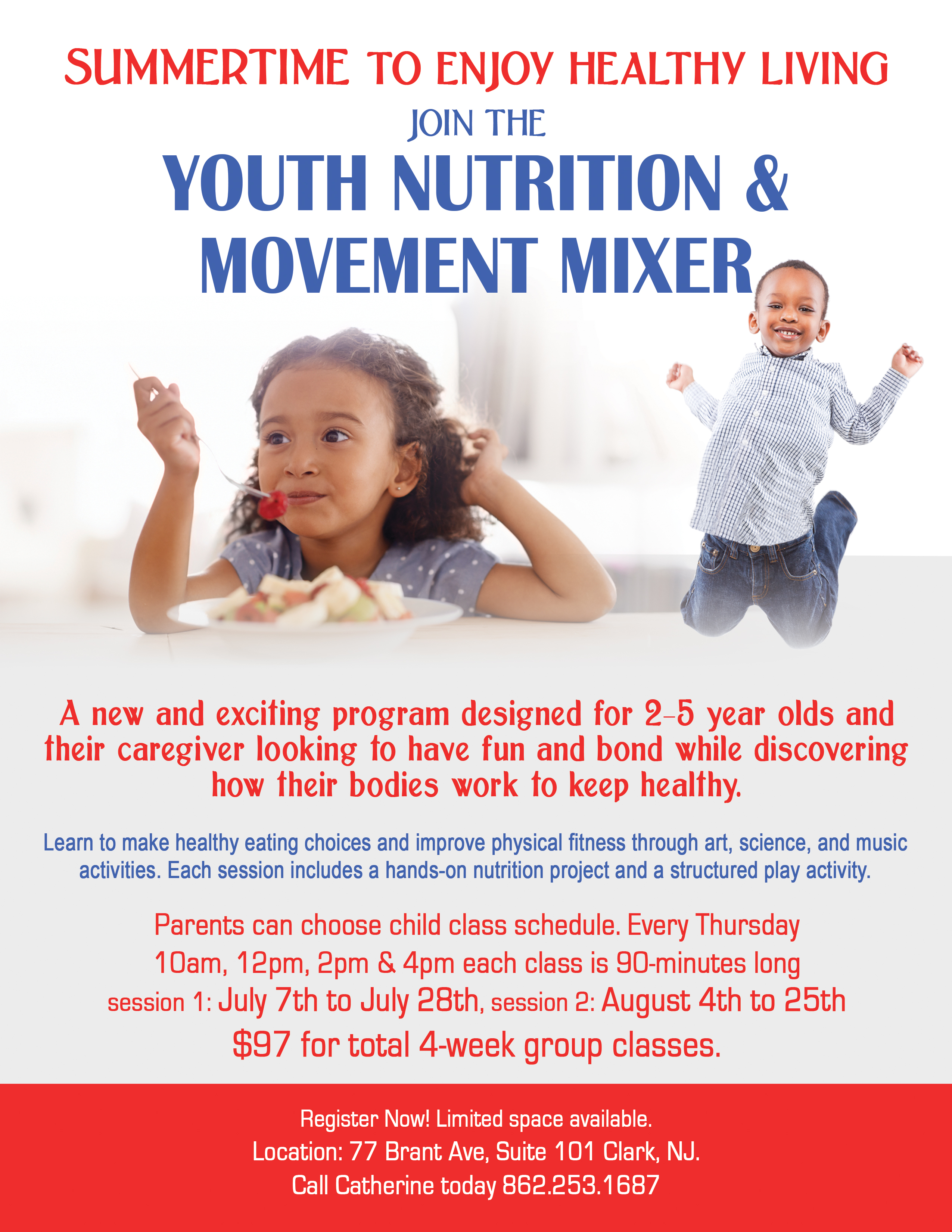 Youth Business Mixer ~ Youth nutrition and movement mixer in clark tapinto