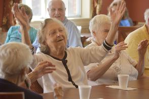 Sing along at the Senior Shindig