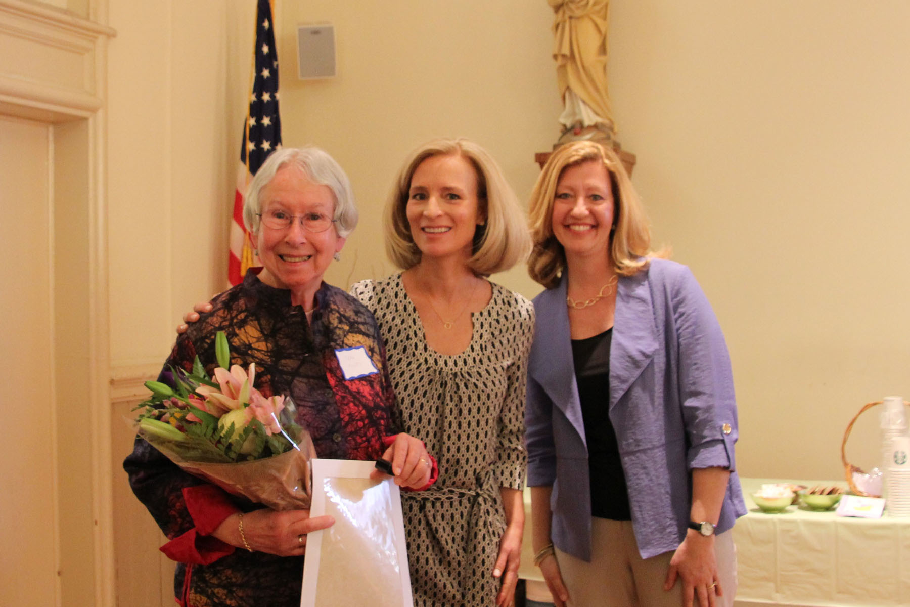 Fiory Receives Christ Child Society 2015 Virginia Merrick Award at Annual Baby Shower