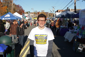 Chase Harrison at the Short Hills Street Fair