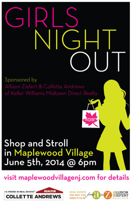 Girls Night Out in Maplewood Set for June 5, photo 1