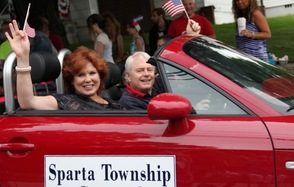 Mayor Molly Whilesmith and Deputy Mayor Jerry Murphy