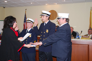 New Fire Officers