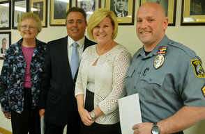 Honors for Fanwood Police Sargeant