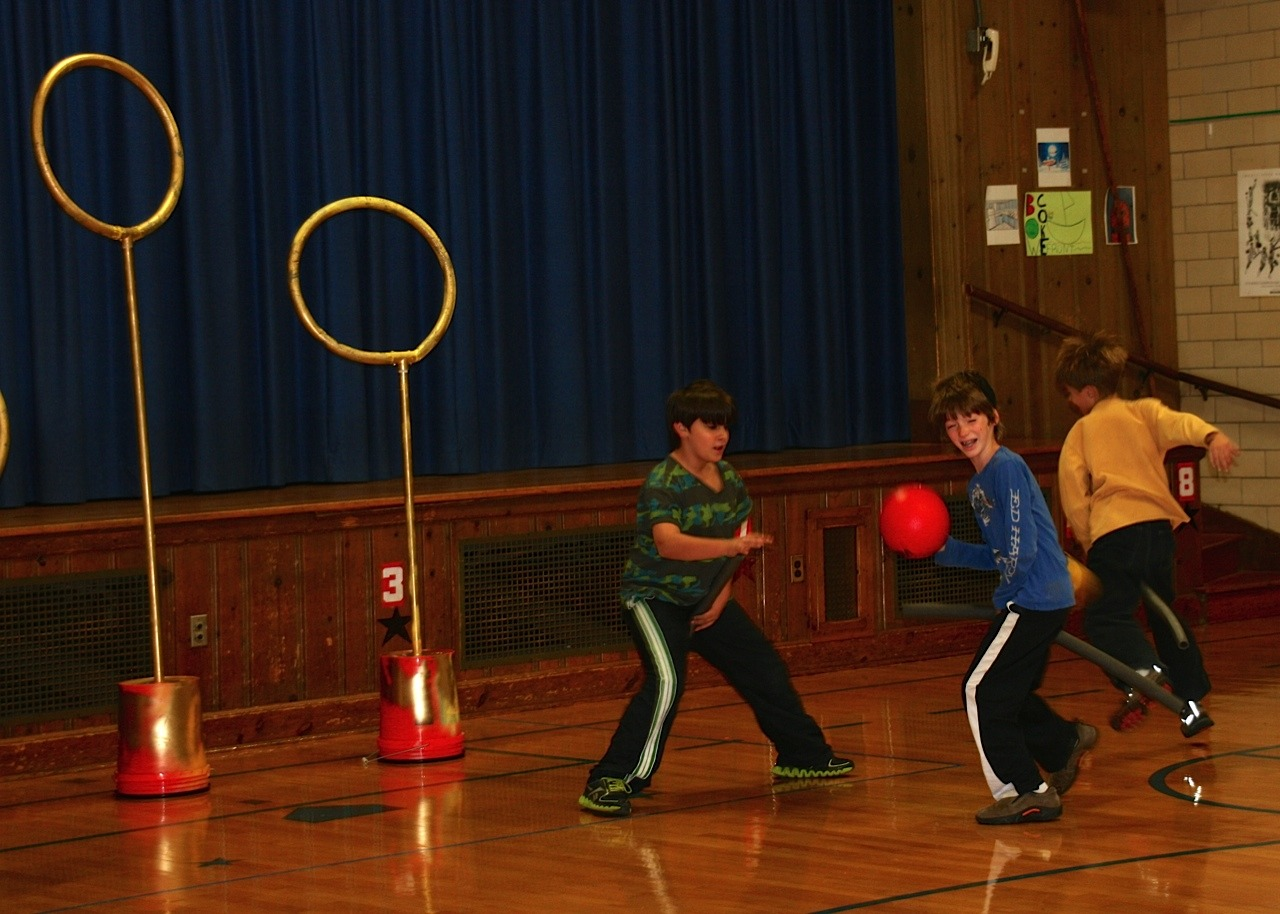Quidditch Club Debuts at Lincoln-Hubbard School