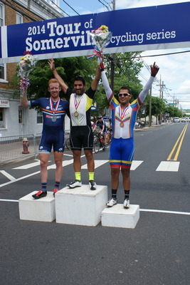 Winners of the Men's Pro, I and II