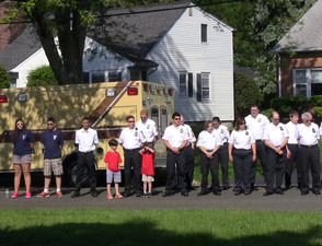 Fanwood Rescue Squad, Police and Fire Department participated in Memorial Day events