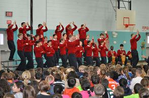 American Boychoir 'Wows' Randolph Elementary Schools, photo 1