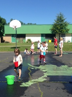 Leaky Bucket Relay Race