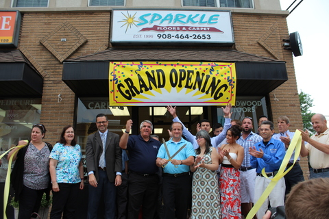 Sparkle Floors And Carpet Celebrates Grand Opening North