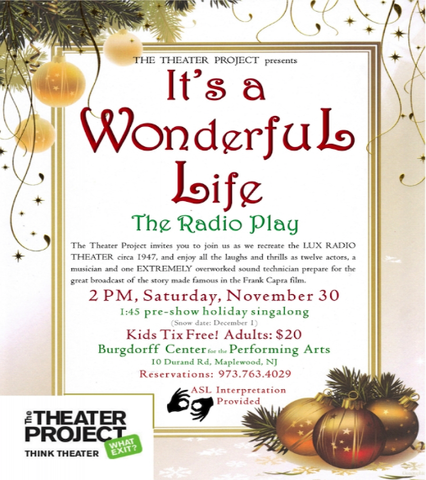 39 It S A Wonderful Life The Radio Play 39 In Maplewood On Saturday Nov 30 News Tapinto