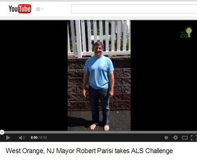 Mayor Parisi's Ice Bucket Challenge