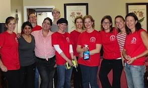 Makeover volunteers