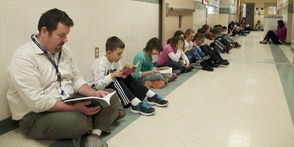 South Mountain School Holds Reading Olympics, photo 2