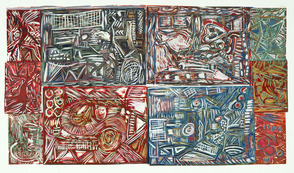 Monoprints by Andrea Epstein of Berkeley Heights on Exhibit at Pearl Street Gallery, photo 1