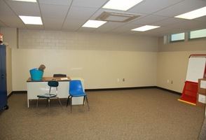 Old Locker rooms transformed office space