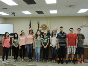 South Plainfield Summer Interns Head Back to School, photo 1