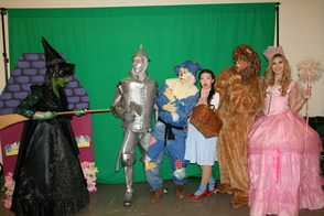 Wizard of Oz Character Breakfast