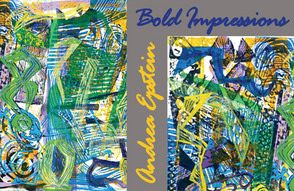"""Bold Impressions"" Show Postcard"