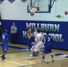 Miller Boys Basketball Team Advances in State Tournament Over Scotch Plains-Fanwood, photo 5