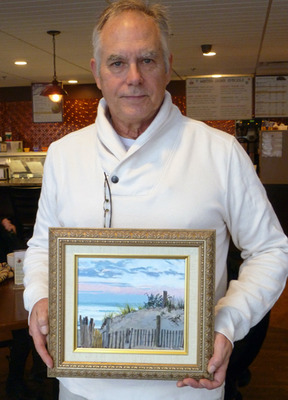 Acrylic painter William A. Griffith will do a demonstration at the January 12th meeting of the Scotch Plains Fanwood Arts Association.