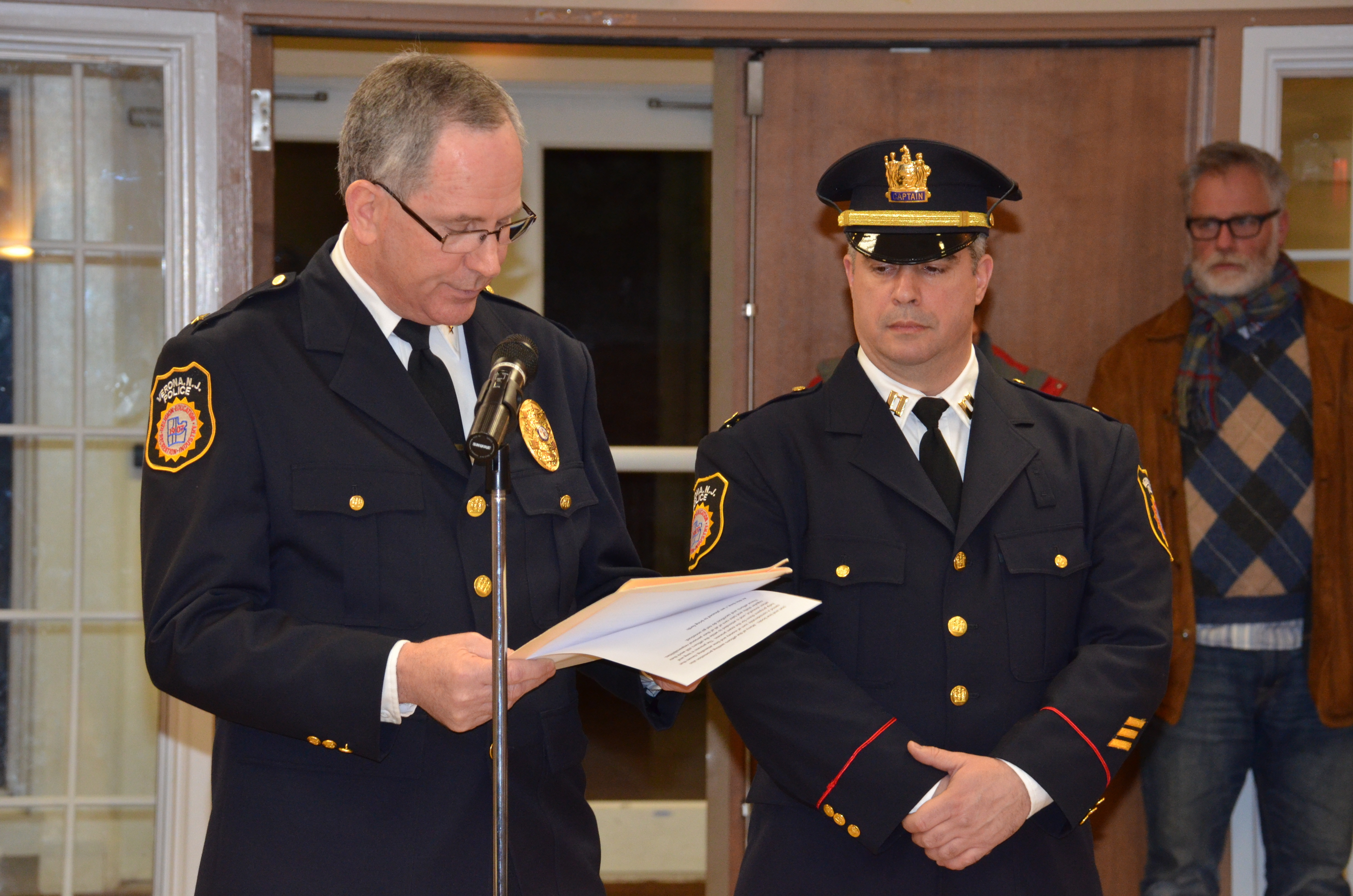 Verona police department announces promotions and new for Uniform verona