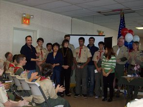 C.J. Scalera Earns The Honor of Eagle Scout , photo 4