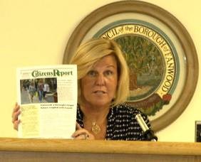 Mayor Colleen Mahr introduces new Citizens Report