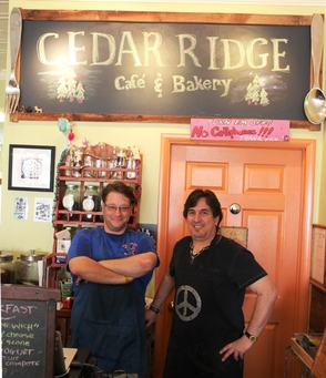 Joe Ramaikas and Paul Holtzman, Owners, Cedar Ridge Cafe
